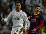 Bóng đá - Cạnh tranh với Messi là một phần cuộc sống Ronaldo