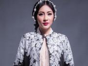 Thời trang - Hoa hậu Thu Thảo che ngực trần bằng hạt trai