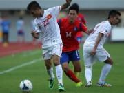 Bóng đá - U19 Việt Nam 0-6 U19 Hàn Quốc: Cảm ơn… xà ngang!