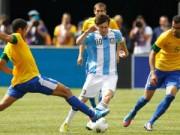 Bóng đá - Brazil-Argentina: Quần hùng tụ hội, Neymar đấu Messi