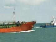 Video An ninh - Tàu Sunrise 689 đã cập cảng Vũng Tàu