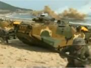 Video An ninh - Hai miền Triều Tiên đấu súng dữ dội tại biên giới