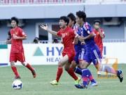 Bóng đá - Công Phượng khuấy đảo hàng thủ U19 Nhật Bản