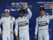 Thể thao - Phân hạng Russian GP: Hamilton đoạt pole đầy kịch tính