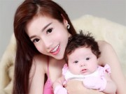 Bạn trẻ - Cuộc sống - Elly Trần có con hơn 2 tháng với bạn trai Tây