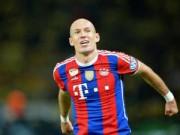 Bóng đá - Tin HOT tối 13/10: Robben toàn diện hơn Messi, CR7