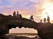 """Du lịch - Phát hiện """"Cổng Tò vò"""" dưới đáy biển đảo Lý Sơn"""