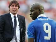 Bóng đá - Hàng công yếu kém, Conte cân nhắc triệu hồi Balotelli