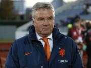 Bóng đá - Hà Lan lại gây thất vọng, HLV Hiddink bị chỉ trích