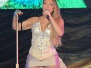 Ca nhạc - MTV - Mariah Carey hớ hênh trên sân khấu Trung Quốc