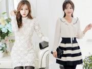 Thời trang - Các mẫu váy thu theo chân nàng sành điệu tới sở