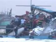 Video An ninh - Tiền Giang: Cháy tàu cá thiệt hại gần 1 tỷ đồng
