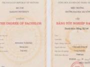 Giáo dục - du học - Trường ĐH Sài Gòn cam kết khắc phục sai sót trên bằng tốt nghiệp