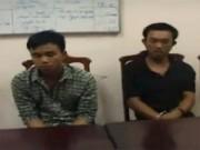Video An ninh - Ba anh em say rượu tấn công CSGT