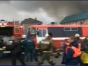 Video An ninh - Vụ cháy chợ người Việt ở Nga: Nhiều khả năng bị đốt
