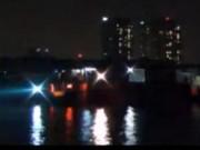 Video An ninh - Hai tàu đâm nhau, 1 người mất tích trên sông Sài Gòn