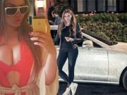 Bạn trẻ - Cuộc sống - Cô gái nóng bỏng sở hữu siêu xe đính triệu viên pha lê