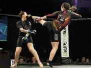 Thể thao - Nữ võ sĩ với cú ra chân hay nhất năm đá gục đối thủ