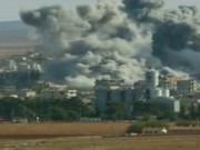Video An ninh - Mỹ tiêu diệt hàng trăm phần tử IS tại Kobani