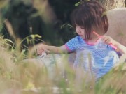 Bạn trẻ - Cuộc sống - Bé gái tự kỉ sáng tạo những tuyệt phẩm từ... mèo