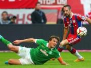 """Bóng đá - Bayern – Bremen: """"Hùm xám"""" đánh tennis"""