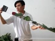 Thị trường - Tiêu dùng - Hoa hồng dài 1,6 m giá 700.000 đồng hút khách Sài Gòn