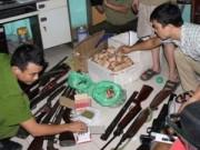 """An ninh Xã hội - Đột kích """"lò"""" sản xuất, sửa chữa súng lớn nhất xứ Thanh"""