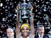 Thể thao - Serena xuất trận (Lượt 1 bảng đỏ WTA Finals)