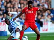 Bóng đá - Liverpool thắng nhọc: Dưới đôi chân Sterling