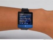 Công nghệ thông tin - Microsoft sắp trình làng đồng hồ thông minh pin 2 ngày