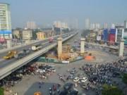 Tin tức trong ngày - HN: Rào chắn đường để xây hầm chui Khuất Duy Tiến