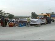 Video An ninh - Tai nạn liên tiếp trên QL1A, 6 người thương vong