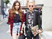"""Thời trang - """"Dân chơi"""" Tokyo phối đồ điêu luyện"""