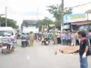 Video An ninh - Xe tải cán ngang người, hai phụ nữ tử vong