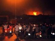 Tin tức trong ngày - Cháy xưởng gần tòa nhà Keangnam: Thiệt hại 5 tỷ đồng