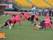 Bóng đá - Cầu thủ U19 VN xung trận giải U21: Thanh Hậu dự bị