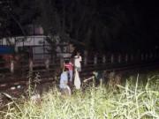 Tin tức trong ngày - Nằm giữa đường ray, người đàn ông bị tàu cán tử vong