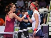 Thể thao - Kvitova - Radwanska: Kịch bản bất ngờ (WTA Finals)