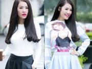 Thời trang - Phong cách thu hiền dịu của Quế Vân