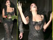 Sao ngoại-sao nội - Hết hồn với Lady Gaga bụng ngấn mỡ trước thềm Halloween