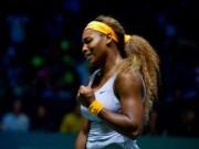 """Thể thao - Serena – Bouchard: """"Hủy diệt"""" đàn em (WTA Finals)"""