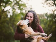 Bạn trẻ - Cuộc sống - Cảm động bộ ảnh chụp cùng chú chó trước khi chết