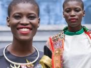 Thời trang - Bất ngờ với chân dài châu Phi mặc áo dài Việt