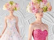 Bí quyết mặc đẹp - Các tuyệt phẩm váy cưới màu đẹp tới ngỡ ngàng