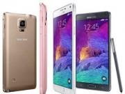 Galaxy Note 4 cán mốc 4,5 triệu máy