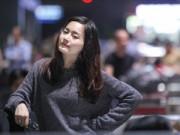"""Phim - """"Cô gái xấu xí"""" Lan Phương xinh đẹp ở sân bay"""