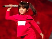 Ca nhạc - MTV - Con gái ca sỹ Trang Nhung gây chú ý ở Vietnam's got talent