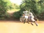 Video An ninh - Đu dây qua sông, một người dân bị rơi tử vong