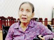 An ninh Xã hội - Người đàn bà mù gần 40 năm vò võ đi kiện