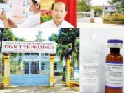 An ninh Kinh tế - Tiêu dùng - Vụ tiêm nhầm nước cất: Cảnh báo toàn hệ thống tiêm chủng